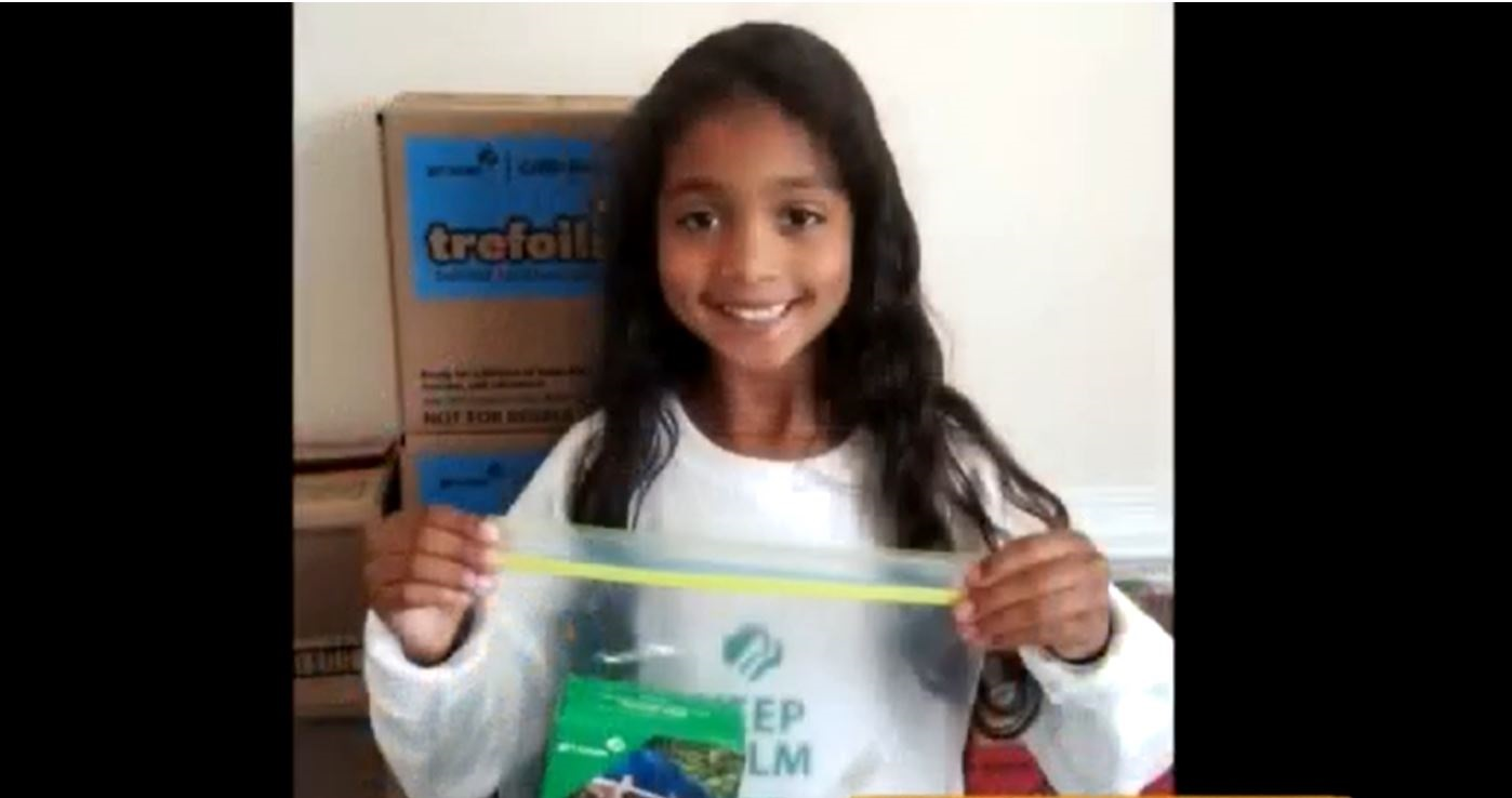 7-Year-Old Makes Care Packages for Navy Sailors