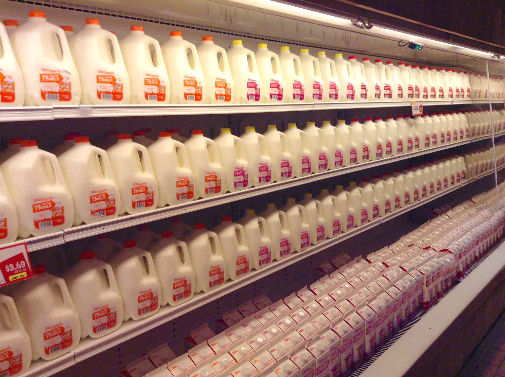 Kroger Donates 'Tidal Wave of Milk' to Food Banks